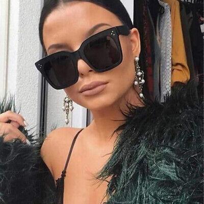 Kardashian Sunglasses Flat Kim Top Women Fashion Oversized Square Luxury (Kim Kardashian Oversized Sunglasses)