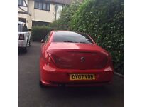 Peugeot 307 CC Convertible, 2007, 1.6 Petrol with Electric Hard Roof , Full leather