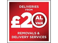 Man in van Paisley Al in the van removals services