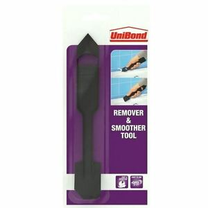 Unibond Silicone Mastic Sealant Remover and Smoother Tool - Window Bathroom