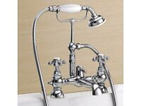 Balmoral Traditional Bath Shower Mixer Tap & Kit RRP £249.95 Brand new and boxed