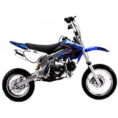 Free Shipping Coolster 214FC New Blue 125cc Adult Size KLX STYLE Dirt Bike Blue