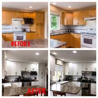 Kitchen installs or refacing your cabinets