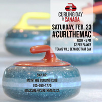 Curling Day in Canada