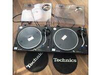 2x Technic 1210's MK2 Turntables, Numark Mixer and Vinyls