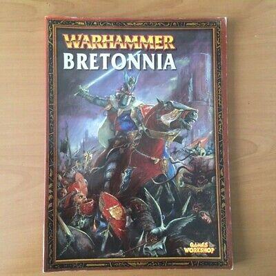 LIBRO DE EJERCITO BRETONNIA 6A EDICION INGLES WARHAMMER