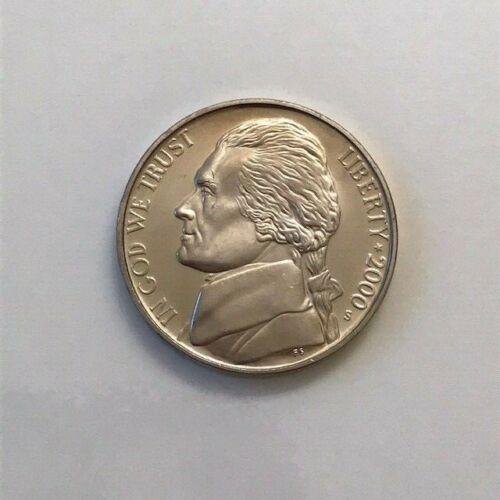 2000 S Jefferson PROOF Nickel