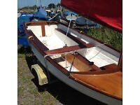 Dinghy Scow sailing boat