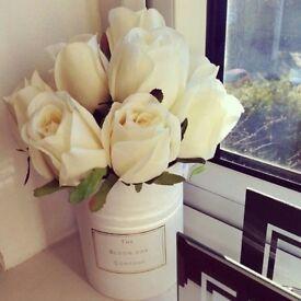Artificial Cream Roses
