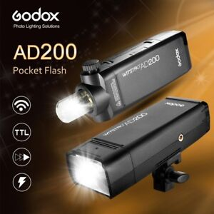 GODOX AD 200 POCKET FLASH **BRAND NEW MANY IN STOCK**$389.99