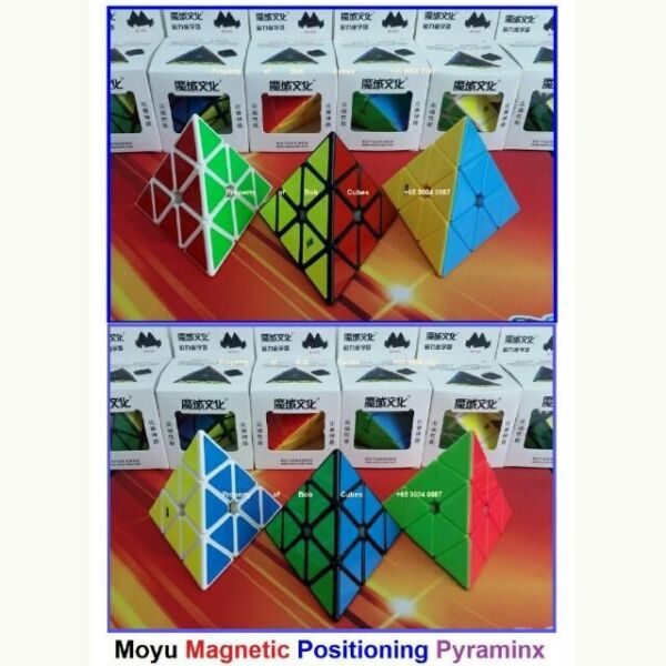 - Moyu Magnetic Positioning Pyraminx for sale Singapore