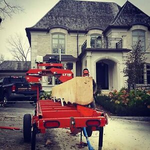 Custom Portable Sawmill Service. Great Rates, Quality Sawmilling Cambridge Kitchener Area image 3
