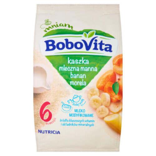 Nutricia Aptamil BoboVITA Milk semolina banana apricot 6 months on FREE SHIP