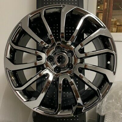 "22"" CHROME AUTOBIOGRAPHY RIMS WHEELS FITS LAND ROVER RANGE HSE SUPERCHARGED"