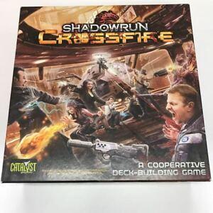 SHADOWRUN: CROSSFIRE Board Game