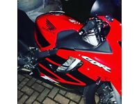 2001 cbr 600 f4i 11 month mot mint condition