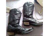New Rock Cowboy Boots 8 / 41 EU