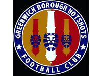 Goalkeeper (and other positions) needed for Sunday league football team in SE London/Kent area