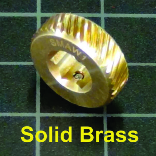 SMA Connector Finger Thumb Wrench, Solid Brass, SMAW1