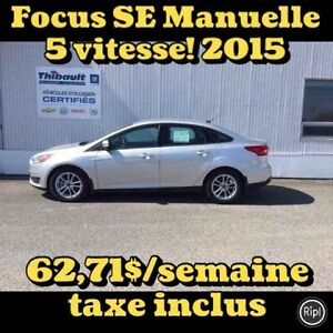 2015 Ford FOCUS BERLINE SE MANUELLE