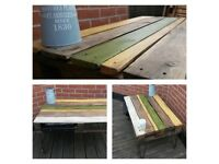 Professionally Upcycled pallet table