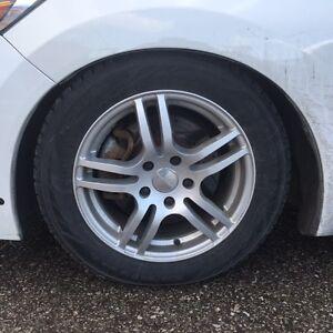 205/55r16 Nokian Hakk R2 16'' 5x114.3 Impulse wheels