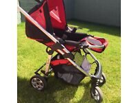 iCandy Cherry with Buggy board and rain cover