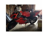 Derbi GPR 125cc 2Stroke for sale