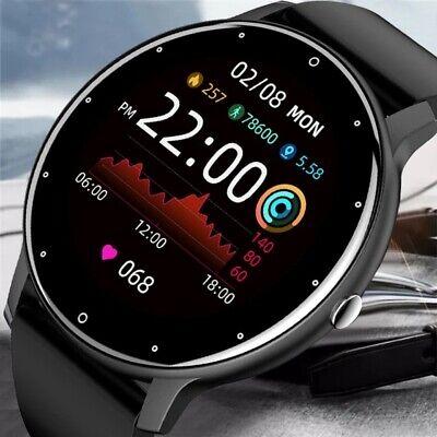 Women Men Smartwatch Best Xmas Gift Watch for Sport Fitness Sleep Heart Monitor