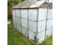 Greenhouse - free to dismantle and take