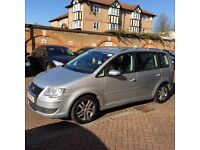 VW Touran 1.9TDI Bluemotion 7 seater with PCO Badge