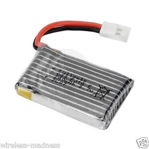 Hubsan X4 LED Micro Quad Copter Spare 3.7V 240mAh LiPo Original Battery H107-A05