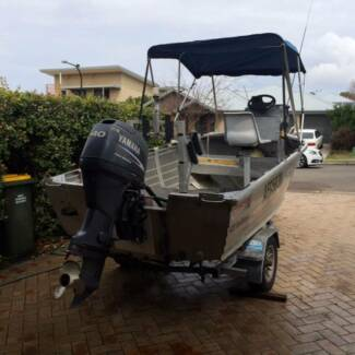 STACER 4.2mtr SEAHORSE Wide body, Deep V Morisset Park Lake Macquarie Area Preview