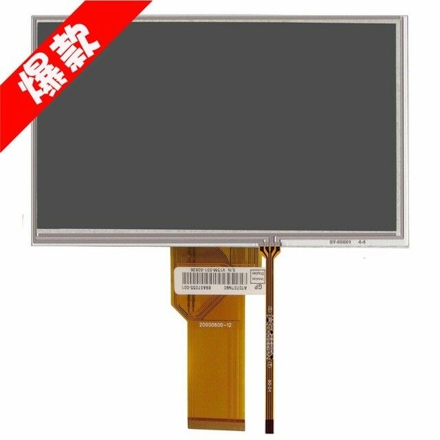 Korg PA600 PA900 7'' LCD display screen with Touch Panel Repair replacement
