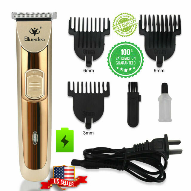 Rechargeable Electric Men Hair Cut Clipper Shaver Trimmer Gr