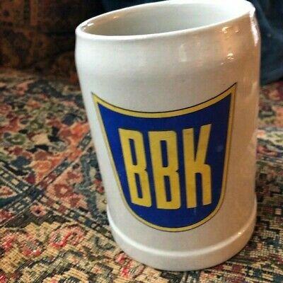 BBK German Made 1/2 liter Stoneware ceramic beer mug coffee  Gerz Germany 5