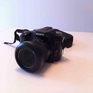 SONY Α (ALPHA) DSLR-A100 10.2 MP DIGITAL SLR CAMERA BUNDLE