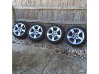 Genuine BMW Star Spoke Alloy Wheels (Style No. 339)