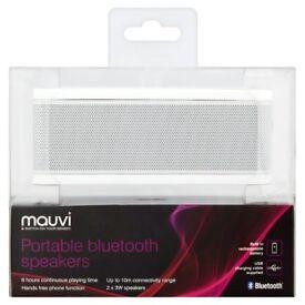 Mauvi Bluetooth Speaker WHITE