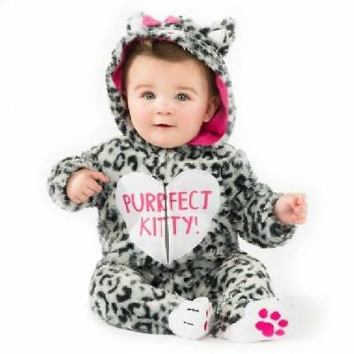 Baby Infant Little Kitty Leopard Soft Plush Costume 6-12 Months  - FREE SHIP ()