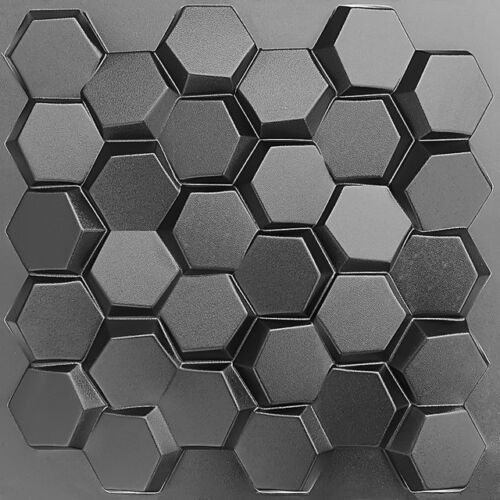 """Quality Plastic Press Mold """"Honeycomb"""" Production of 3d Panels Wall"""