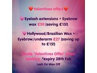 Eyelash extensions Cambridge | Lash On Wax Off