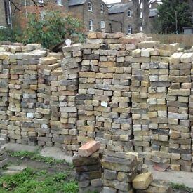 London reclaimed yellow stocks bricks, multi