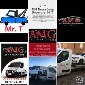 Mr T herts cheap car breakdown recovery 247