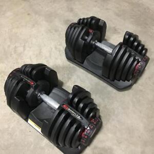 bowflex 1090 set of 2 new condition