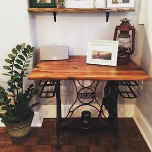 Refinished sowing table