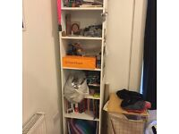 White bookshelf - pick up from Angel - 15 pounds or best offer!