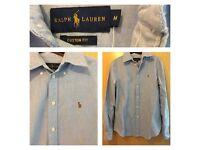 Blue genuine Ralph Lauren shirt size m women's