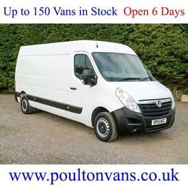 2015 (15) VAUXHALL MOVANO F3500 L3H2 LWB HIGH ROOF PANEL VAN,110BHP