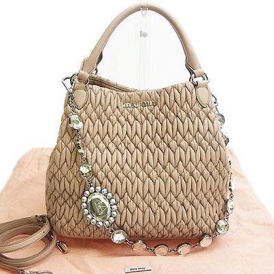 Auth MiuMiu Handbag used R 967